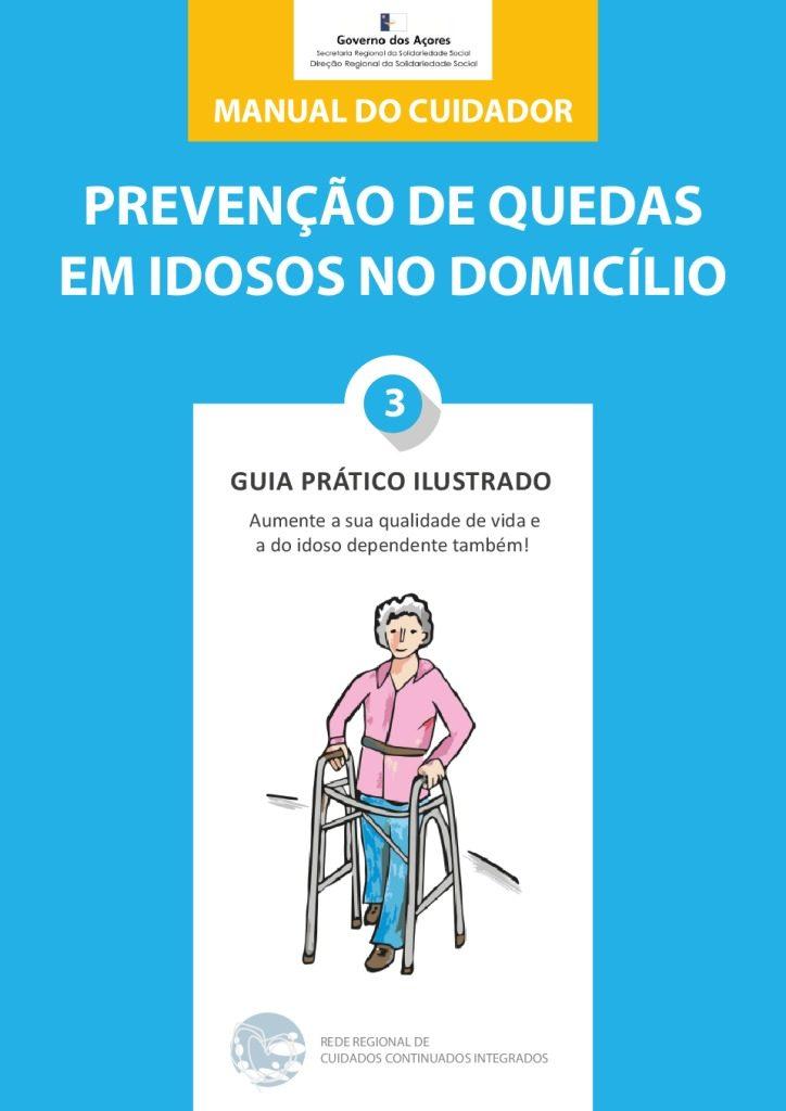 thumbnail of Manual cuidador – prevenção de quedas em idosos no domicílio